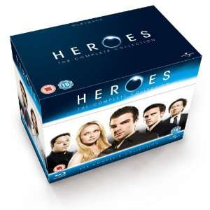 intégrale Heroes BluRay VOST (4 saisons - 18 disques)