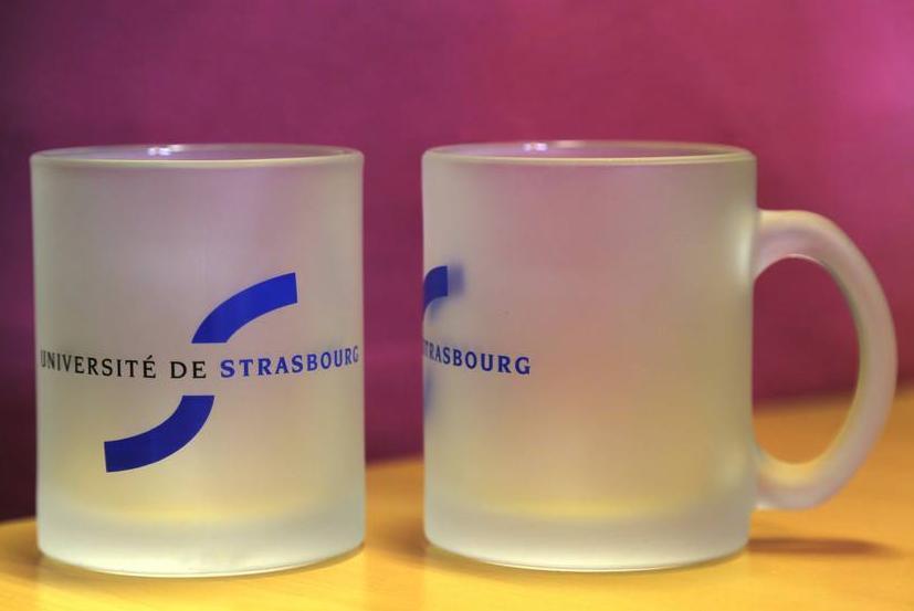 Déstockage boutique Université de Strasbourg - Ex : Mug