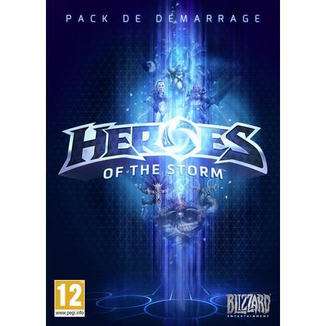 Pack de démarrage Heroes of the Storm sur PC