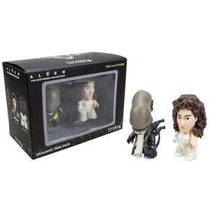 Pack de 2 figurines Vinyl Alien: Ripley et Xenomorph