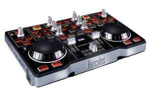 Table contrôle de mixage 2 Platine Hercules DJ control MP3 E2 USB