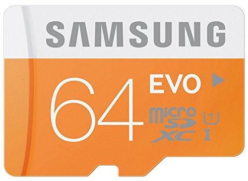 Carte microSDXC Samsung Evo Classe 10 - 64 Go