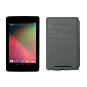 Tablette Asus Nexus 7 32 Go + Etui Travel Cover Dark Grey (+30€ en chèques cadeau pour les adhérents)