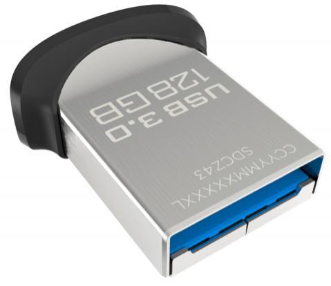 Clé USB 3.0 SanDisk Ultra Fit - 128 Go