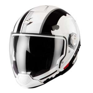 Casque Scorpion Exo EXO-300 AIR - Gunner White / Black