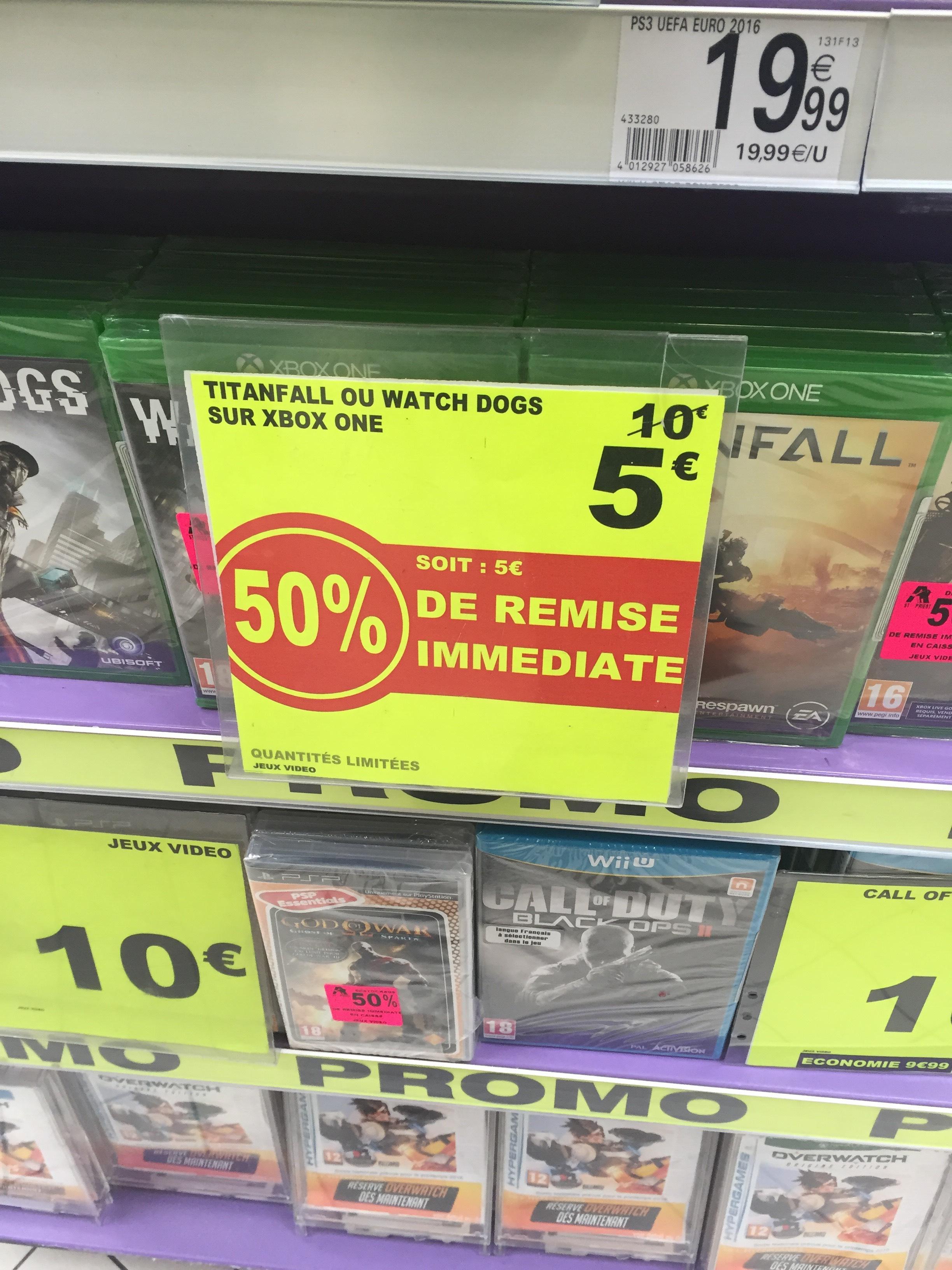 Watch Dogs ou Titan Fall sur Xbox one