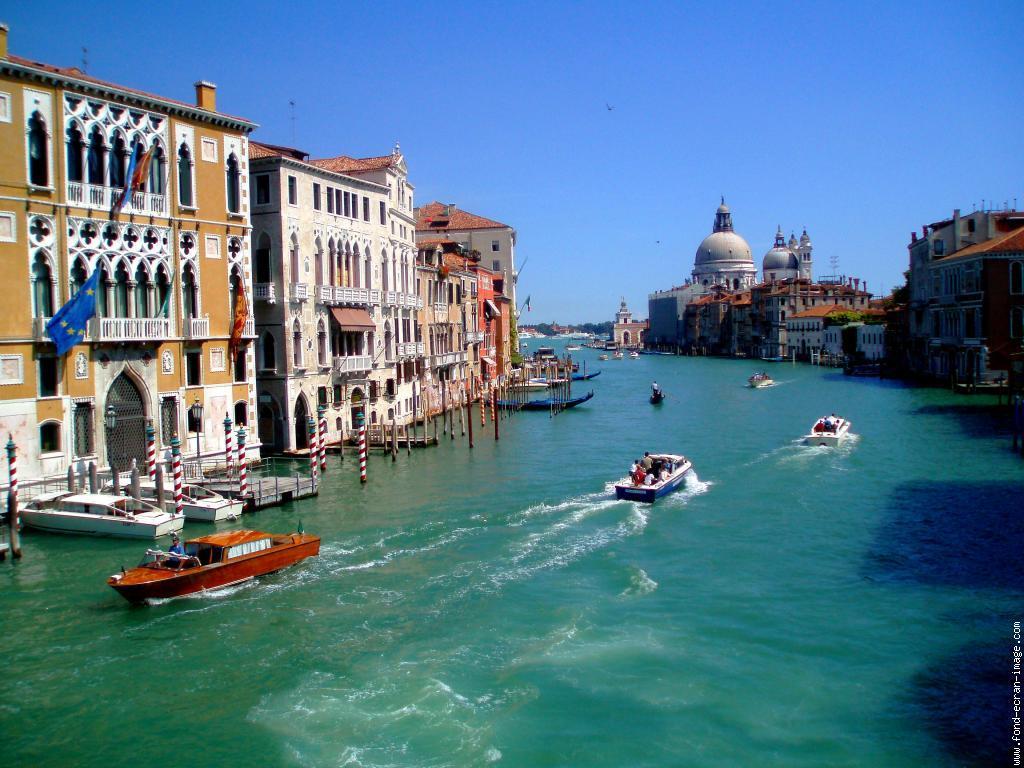 Sélection de vols vers l'Italie à partir de plusieurs villes - Ex : Bordeaux / Venise