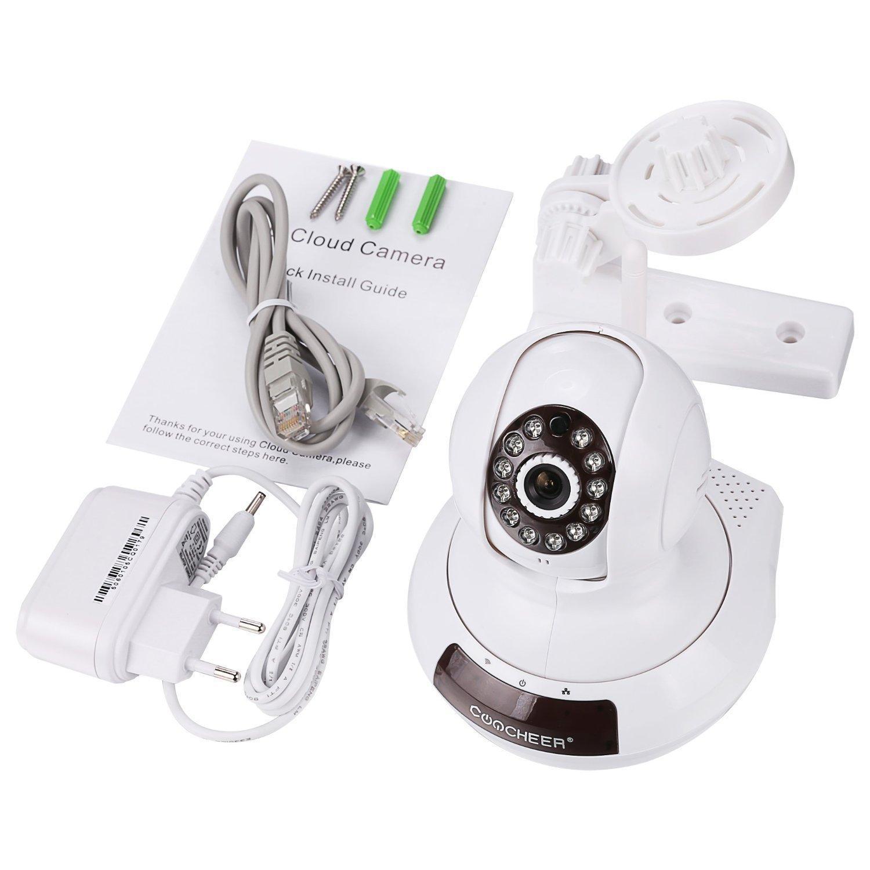Caméra de surveillance pour bébé Coocheer - Wi-Fi, 720p