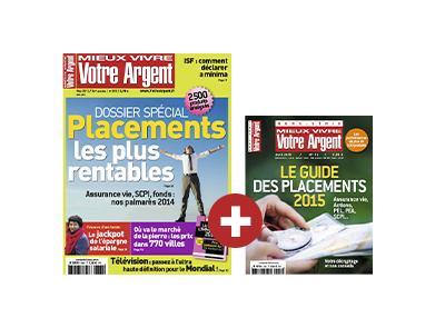 Abonnement 1 an au magazine Mieux vivre votre Argent