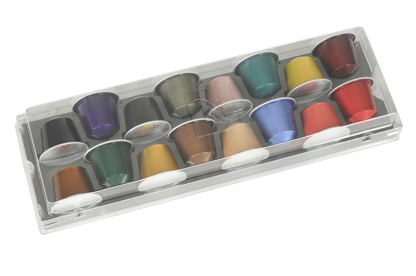 Coffret Grands crus de 16 Capsules offerts  pour toute commande minimum de 10 étuis (100 capsules)