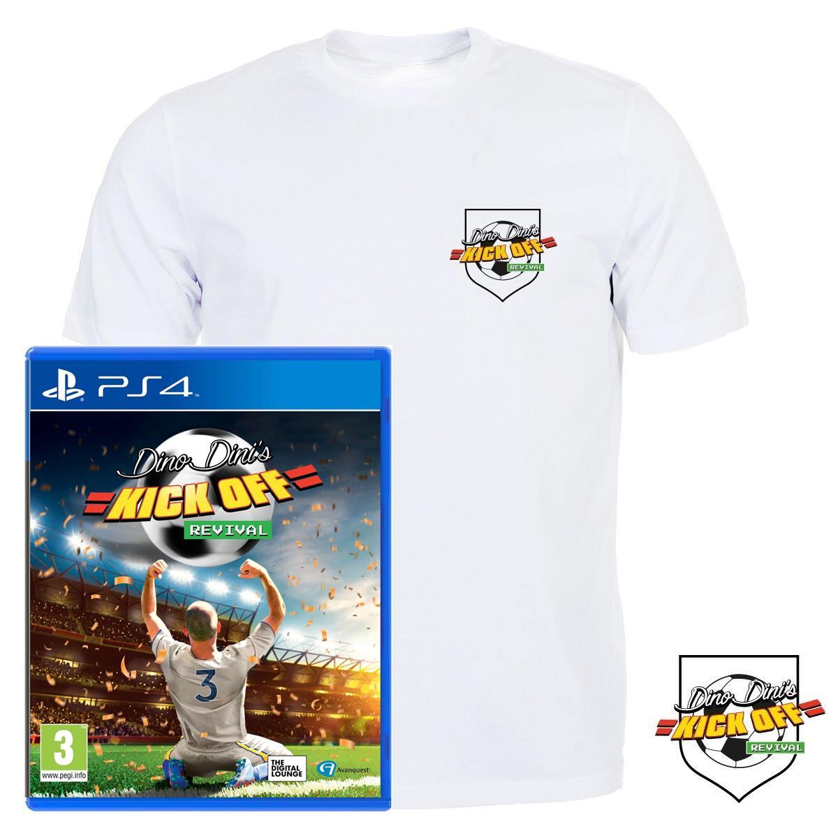 [Précommande] Kick Off Revival sur PS4 + T-shirt offert