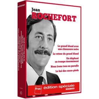 Sélection de coffret 5 DVD - Ex : Coffret DVD Jean Rochefort