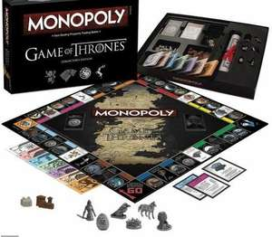 Jeu Monopoly Edition Collector Games of Thrones