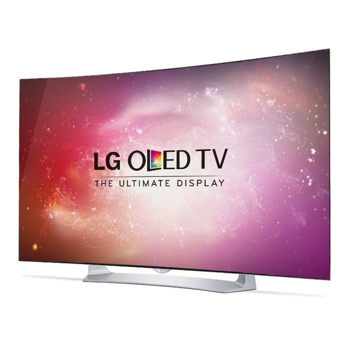 """TV 55"""" incurvée LG 55EG910 - OLED Full HD, 3D, 3 HDMI, Smart TV + 2 paires de lunettes 3D"""