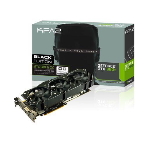Carte Graphique Nvidia GeForce GTX 980 Ti OC Black Edition
