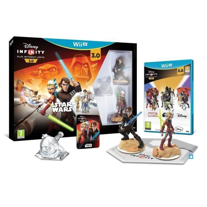 Pack démarrage Disney Infinity 3.0 - Star Wars sur Wii U