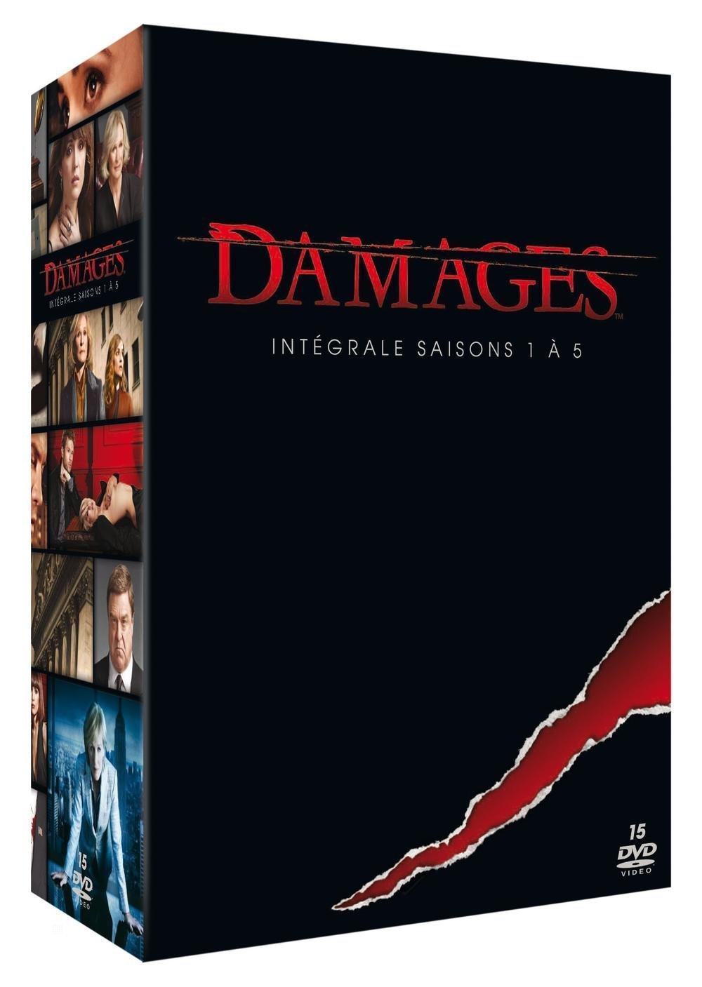 Coffret DVD Damages - Intégrale saisons 1 à 5