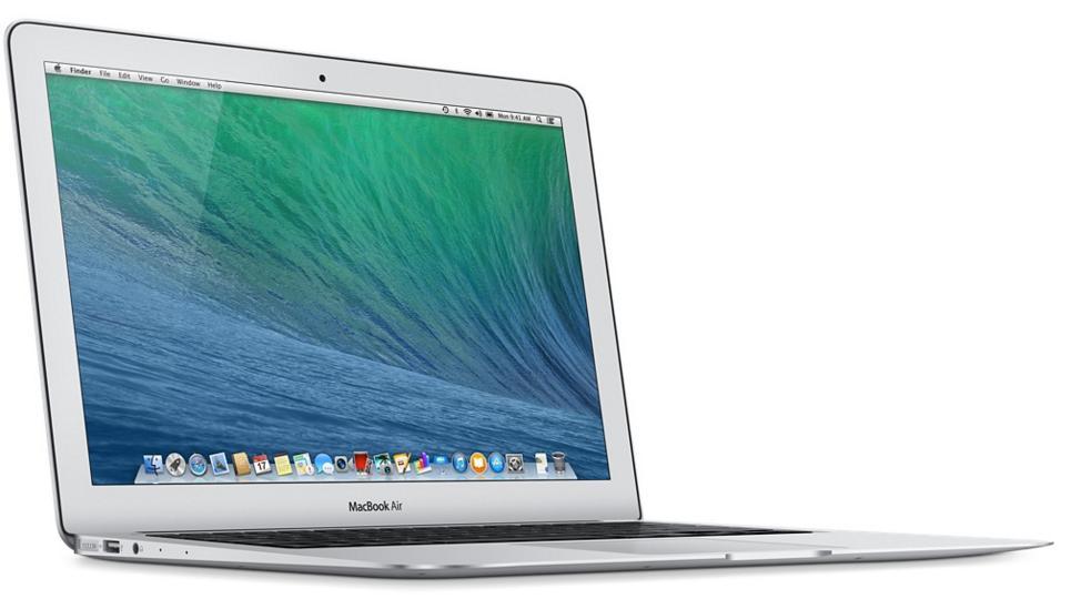 """Apple MacBook Air 13,3"""" année 2013 (i5,  4 Go RAM, 128 Go SSD)  - reconditionné"""