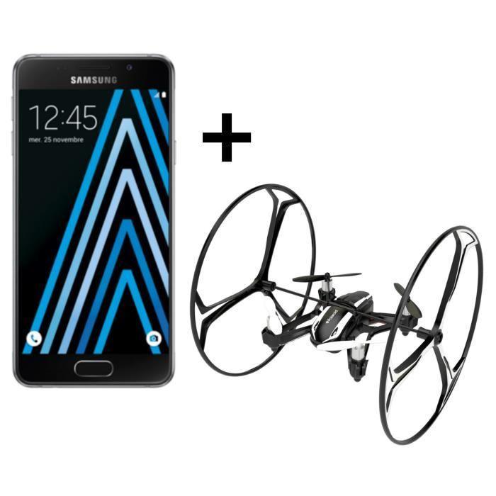 "Smartphone 4.7"" Samsung Galaxy A3 2016 + Black Bird Drone (via ODR 30€)"