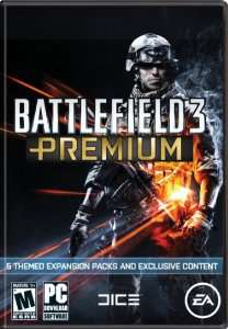 [dématérialisé PC via ORIGIN] Battlefield 3 - Premium Service  (5 packs d'extension + contenu exclusif)