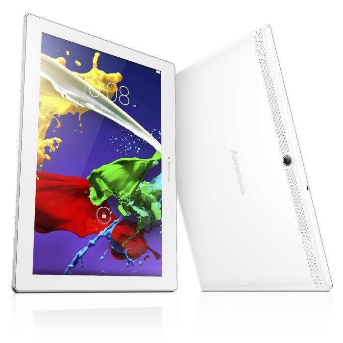 "Tablette 10.1"" Lenovo IdeaTab 2 A10-70 - 16 Go, blanche (via ODR 30€)"