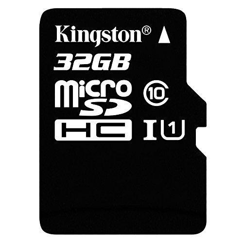 Carte microSDHC Kingston UHS-I classe 10 - 32Go + adaptateur SD - 32 Go