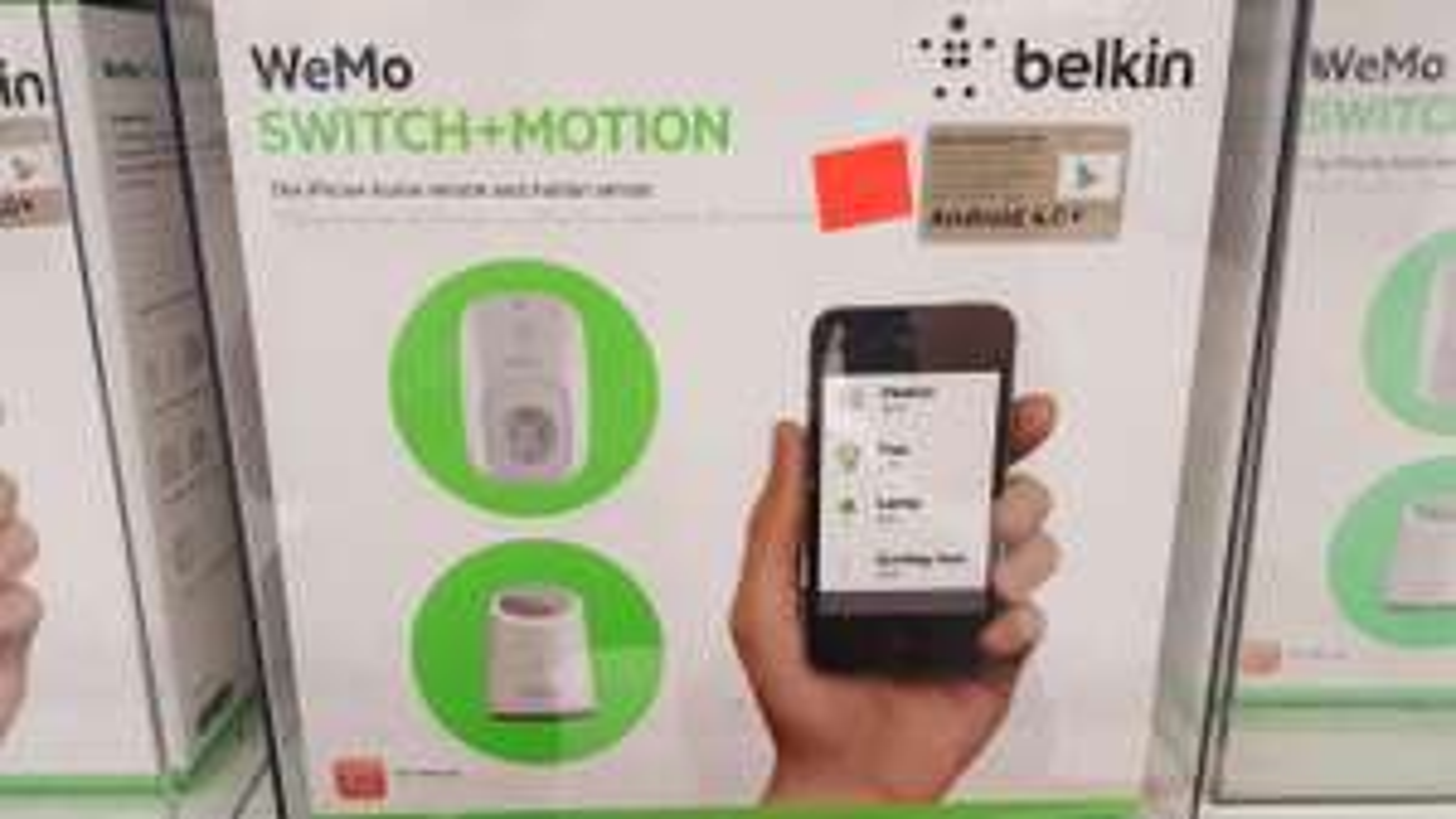 Prise connectée et détecteur de mouvements Belkin Wemo Switch+Motion