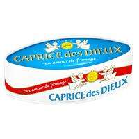Fromage Caprice des Dieux 300g (avec 50% sur la carte + BdR)
