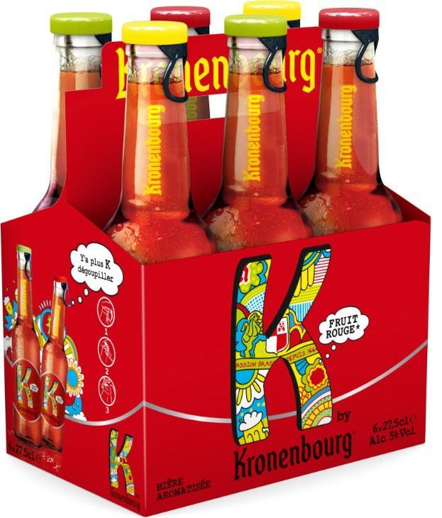 2 packs de 6 bières K by Kronenbourg