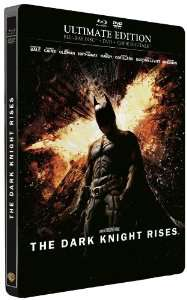 Batman The Dark Knight Rises - Édition limitée Steelbook (Blu-Ray + DVD + Copie Digitale)
