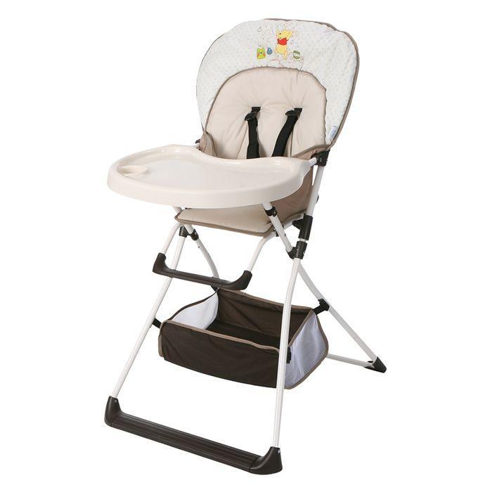 Chaise haute bébé Hauck Mc Baby Deluxe Winny