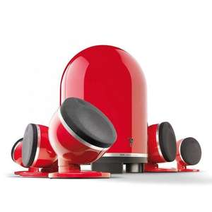 Pack d'enceintes 5.1 Focal Dôme - Rouge