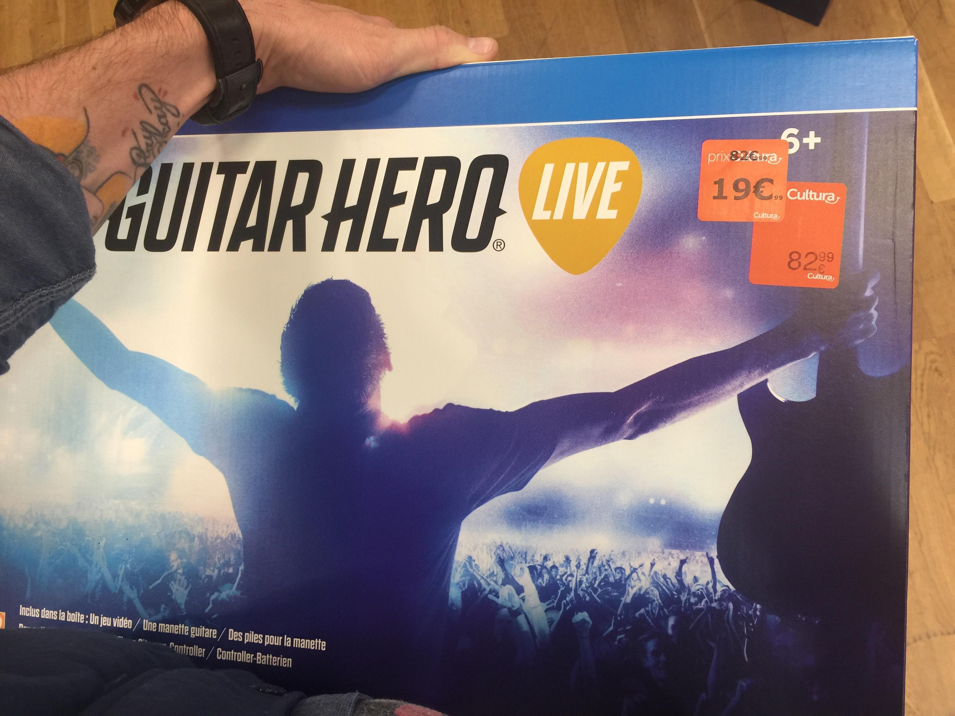 Guitare Hero Live sur PS4, Xbox One, Wii U, PS3 et Xbox 360