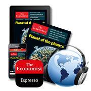 12 numéros du magazine The Economist en version papier et/ou digitale