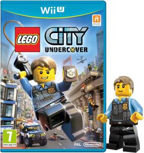 Lego City Undercover Edition limitée avec mini figurine Lego Chase McCain sur Wii U