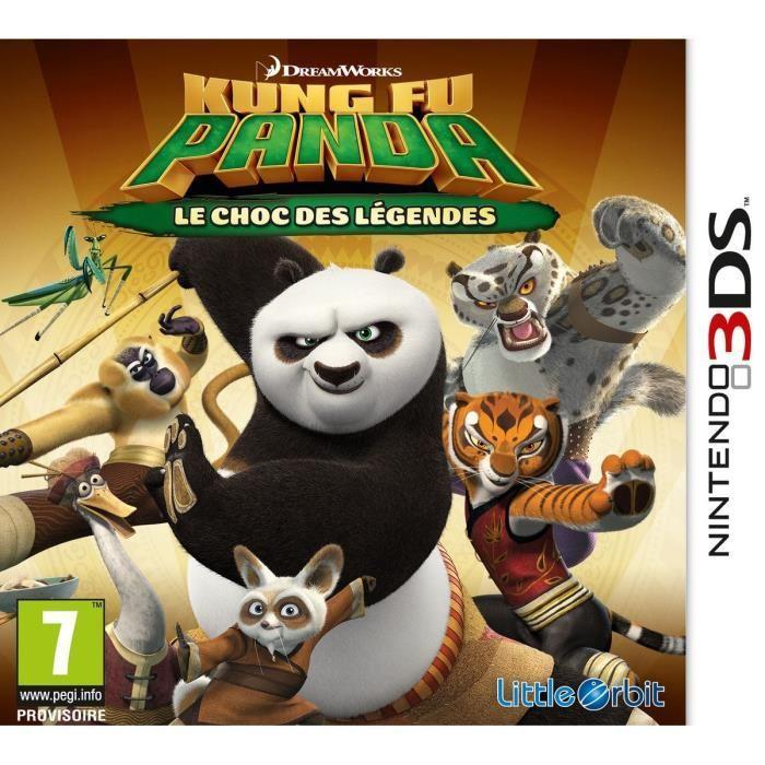 Kung Fu Panda 3 : Le Choc des Légendes sur 3DS