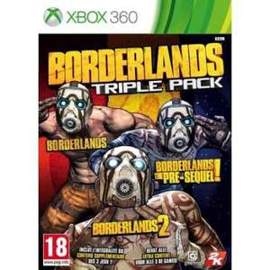 Borderlands Triple Pack sur Xbox 360