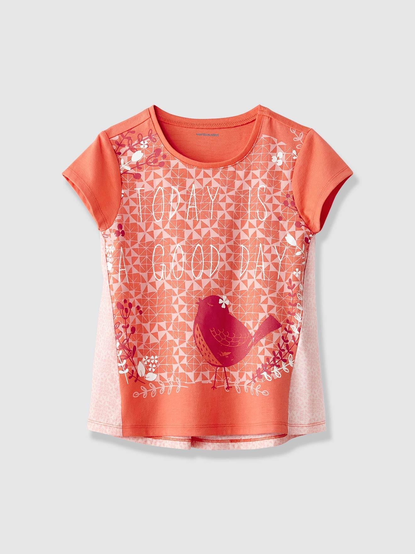 Jusqu'à 60% de réduction sur une sélection d'articles - Ex: T-shirt fille bimatière