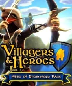 Packs Hero of Stormhold + The Pit of Pyrron gratuits sur le jeu Villagers and Heroes