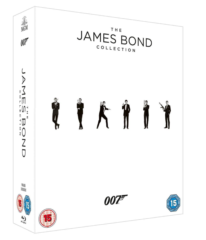 Coffret Blu-ray L'intégrale de James Bond (version 2015)