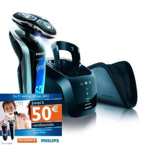 Rasoir électrique Philips RQ1290/23 SensoTouch 3D avec ODR (50€)