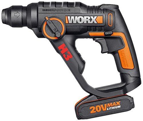 Marteau perforateur 3-en-1 Worx WX390 - 20V