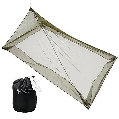 Moustiquaire pour Lit de Camping (Lit Simple) The Friendly Swede
