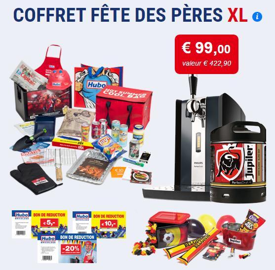 Coffrets Fête des Pères XL : Pompe à bière Philips PerfectDraft + Fût de 6L + Goodies