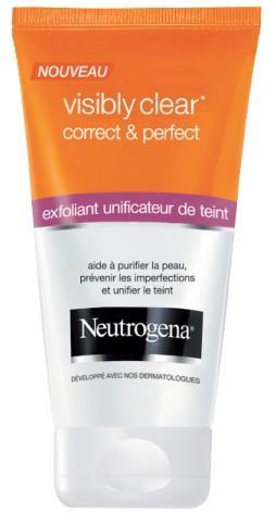 Exfoliant Unificateur De Teint Visibly Clear Neutrogena 200ml - Différentes variétés (via 1.88€ sur la carte + Shopmium)