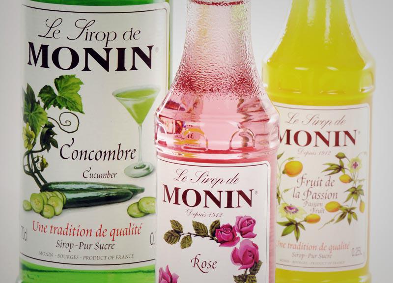 Sirops de Monin 70 cl, nombreux parfums