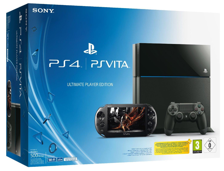 Console Sony Playstation 4 500 Go + Playstation Vita 2000 + Playstation TV