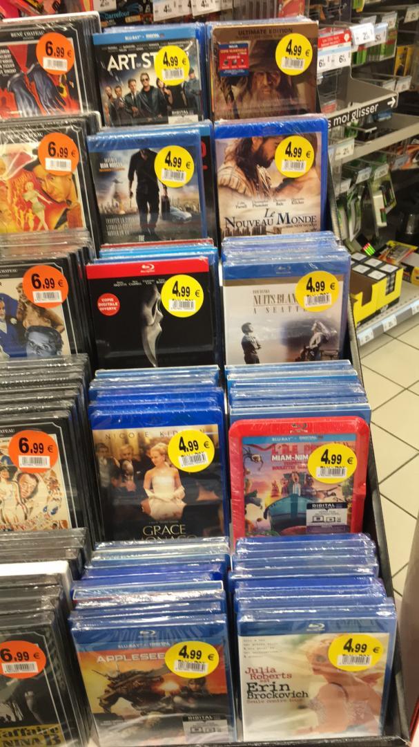 Sélection de Blu-ray à 4,99€ - Ex : Scream 4