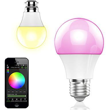 Ampoule connectée Sans-fil HTL Multicolore - Bluetooth