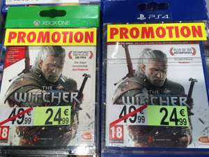The Witcher 3 sur Xbox One / PS4 / PC